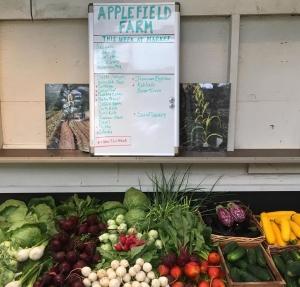 July 4 Applefield menu